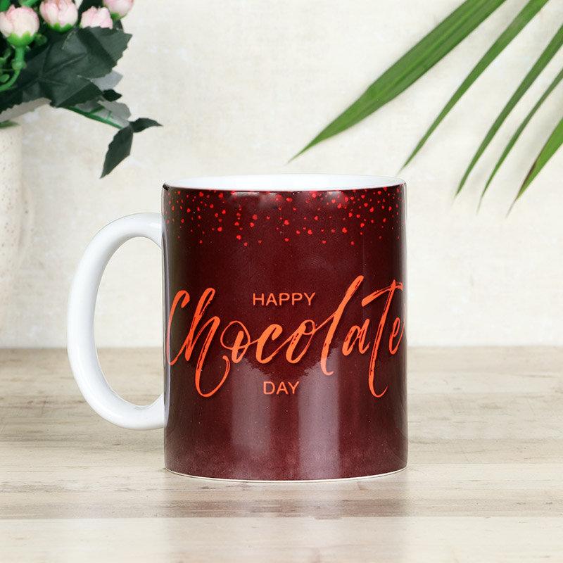 Custom Chocolate Day Mug