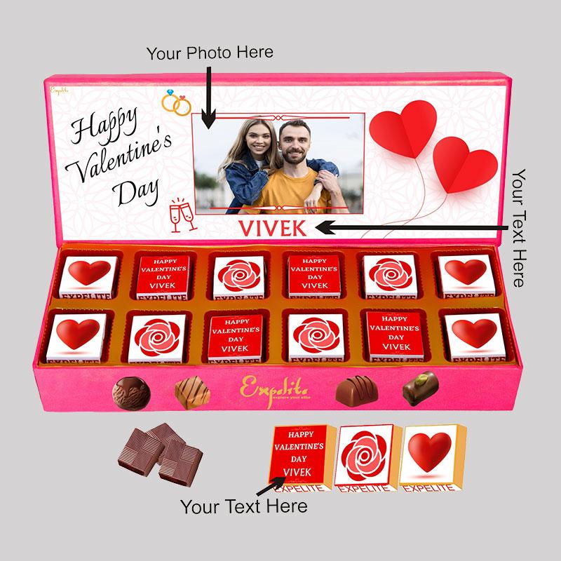 Valentine Day Chocolate Gift Box