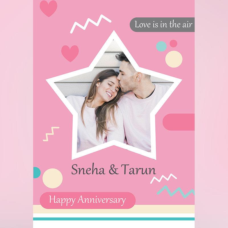 Couple Special Custom Anniversary E-Cards
