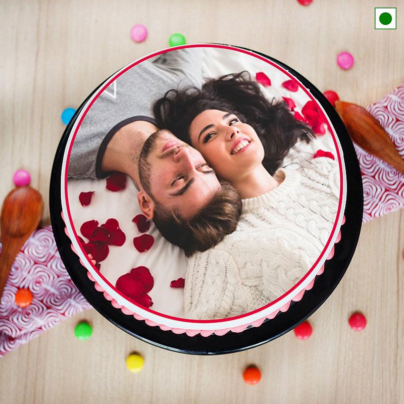 Custom Eggless Cake