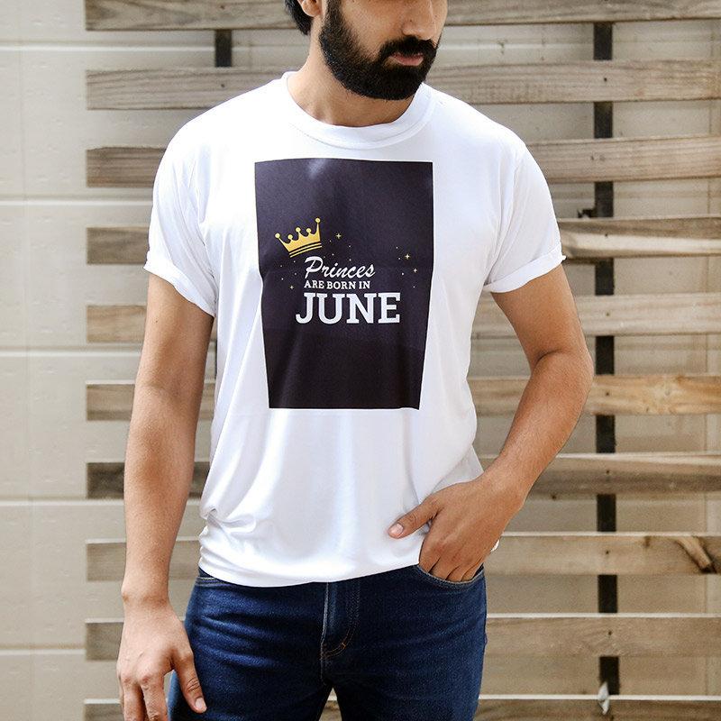 Custom June B Day Prince T-Shirt