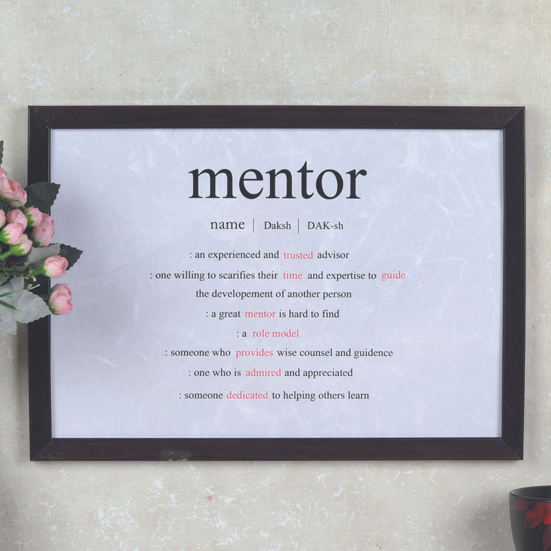 Custom Mentor Certificate