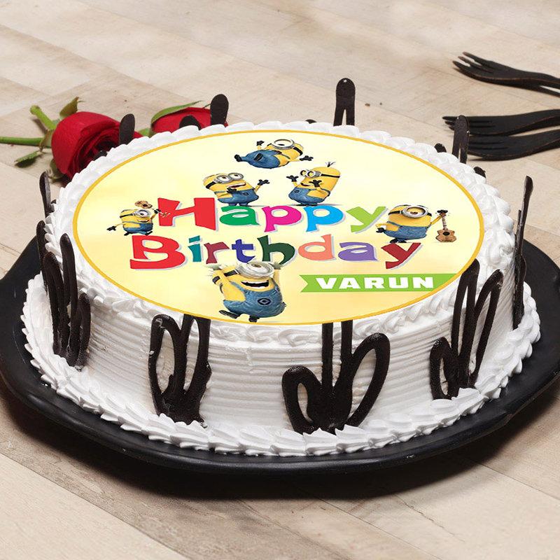 Custom Minion Poster Cake