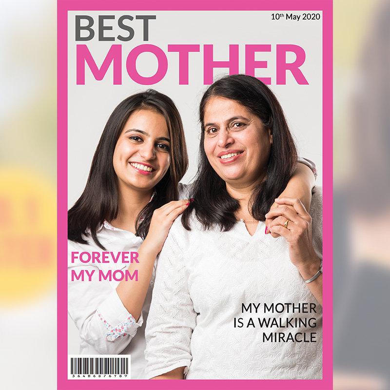 Custom Mom Magazine Cover