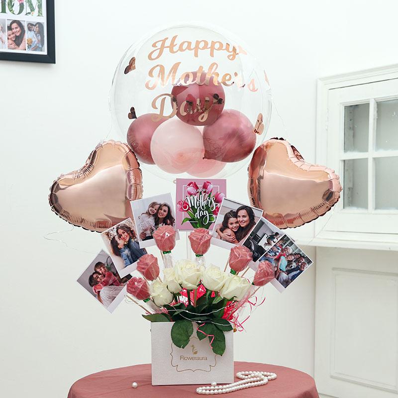 Custom Mother Balloon Bouquet