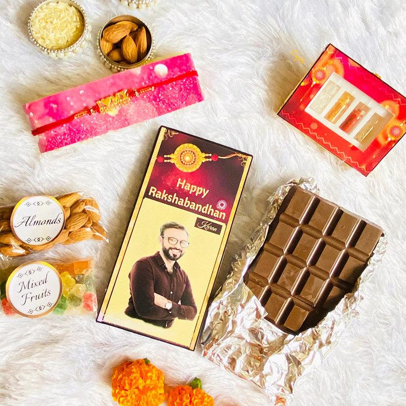 Custom Rakhi Choco Box