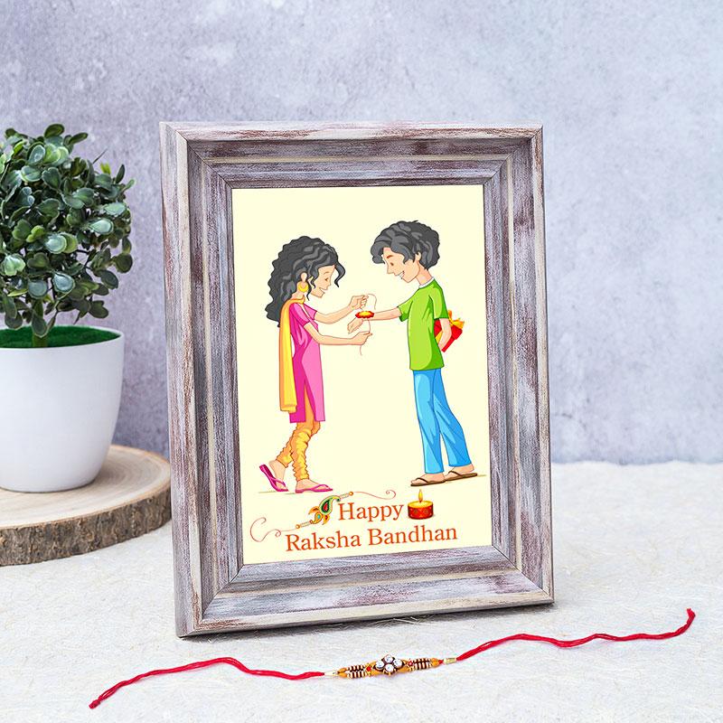 Custom Rakhi Frame