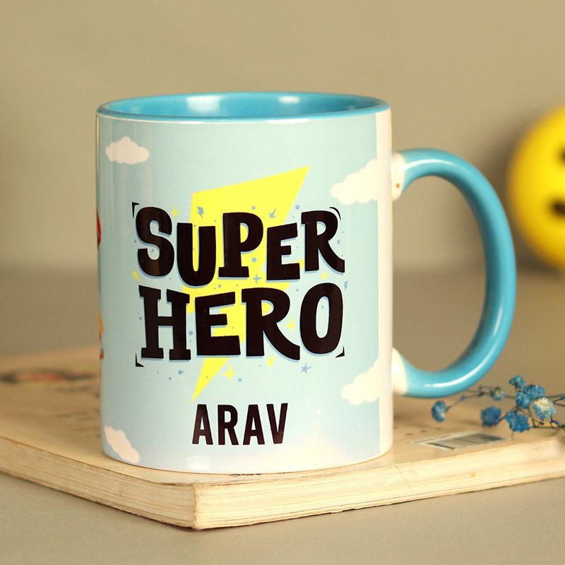 Custom Superhero Mug
