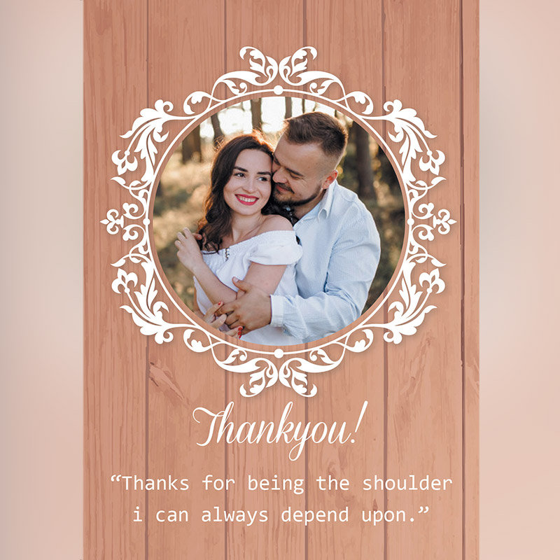 Personalised Thank You E Card