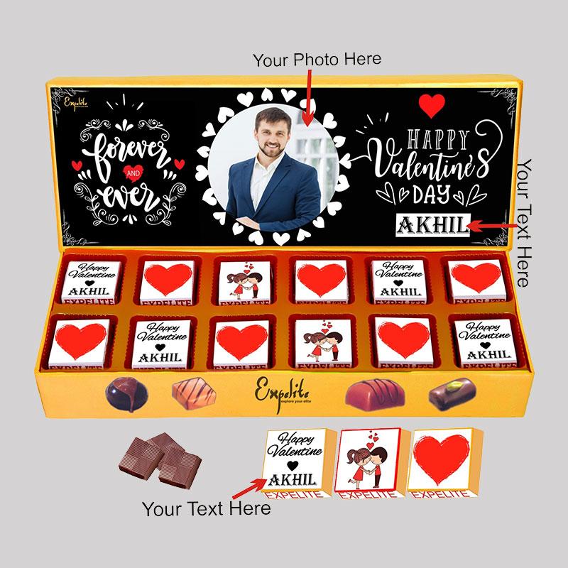 Custom Vday Choco Box
