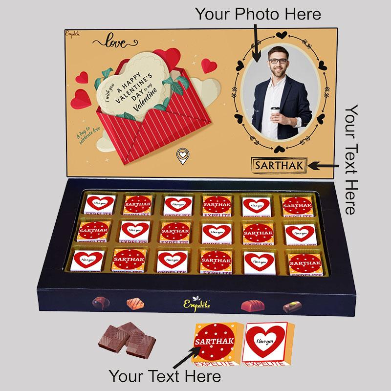 Custom Vday Love Choco Box