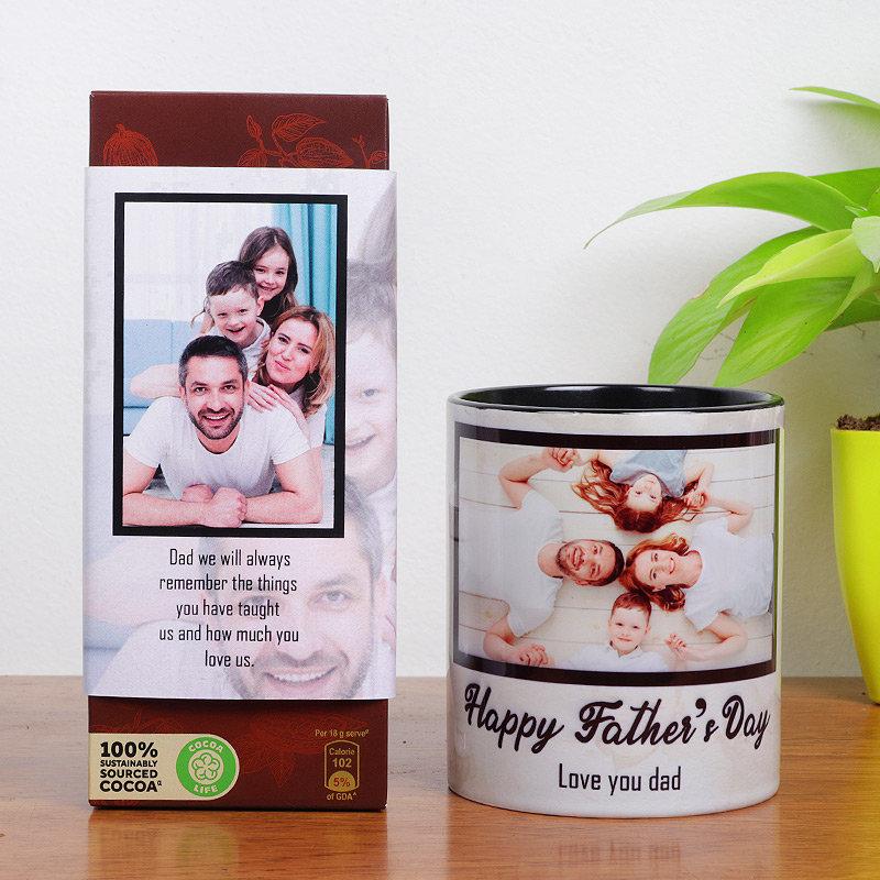 Customise Father's Day Mug Combo