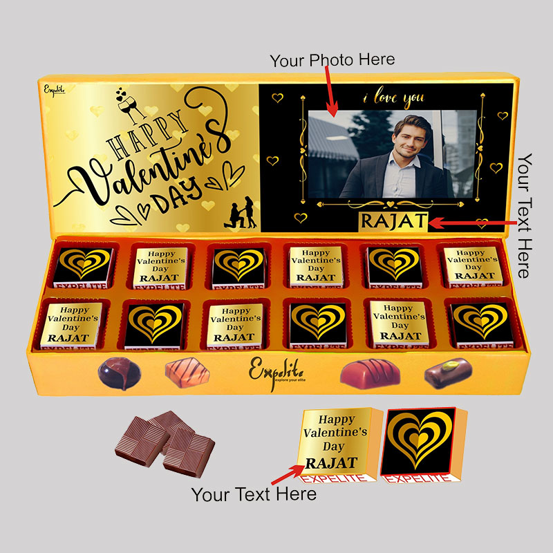 Customised Choco Box