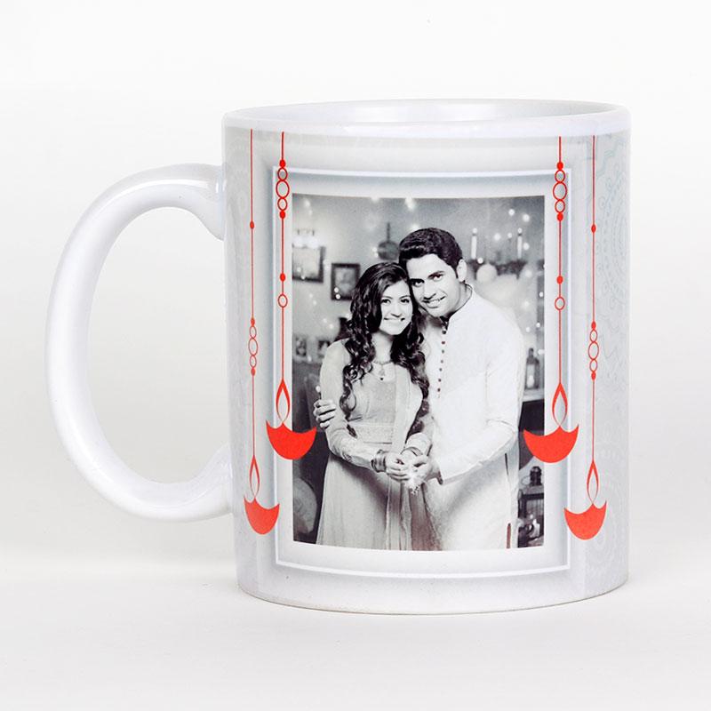 Customised Classy Mugs - Diwali Gift