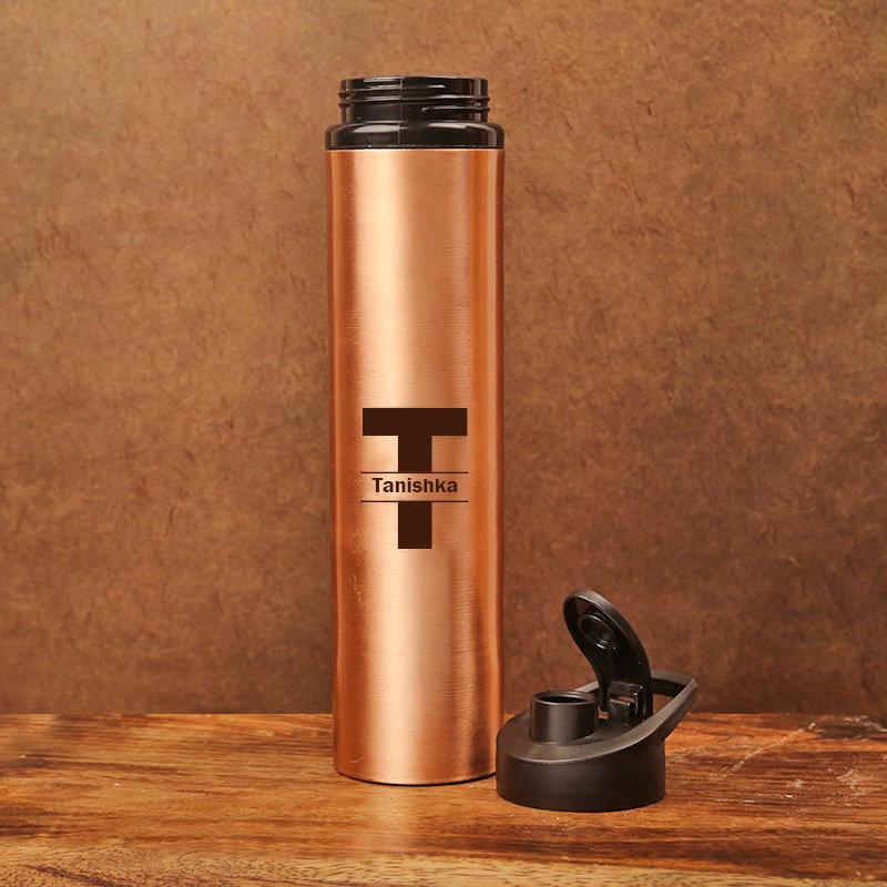 Customised Copper Bottle