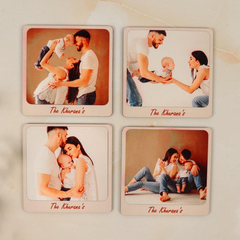 Customised Family Coasters