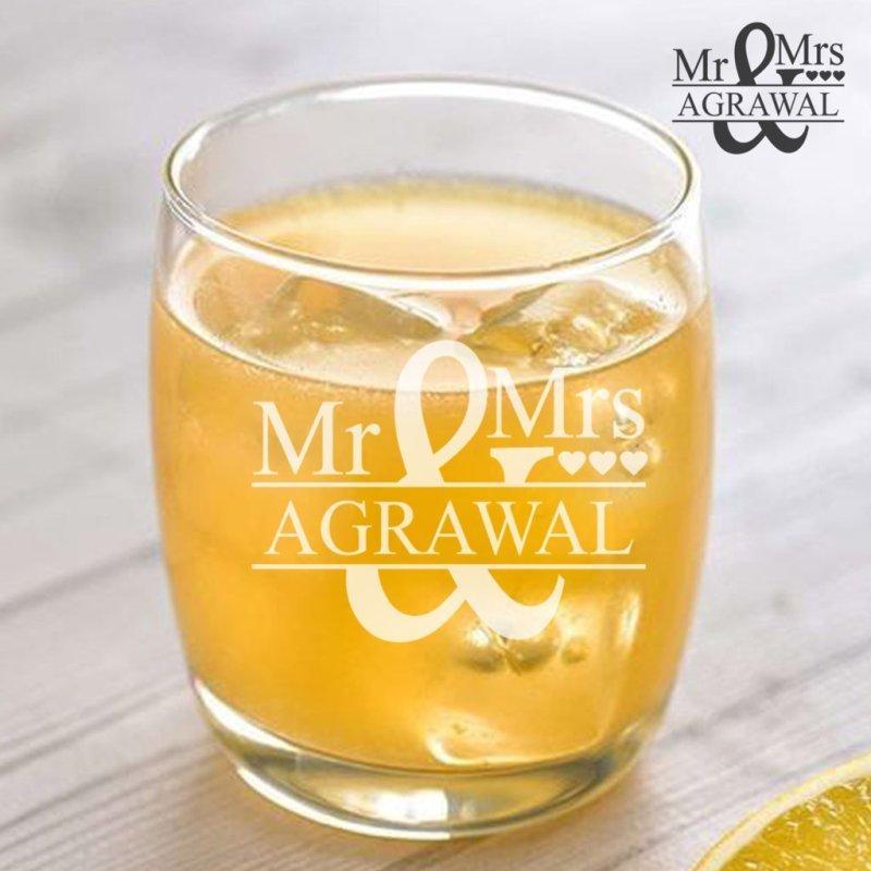 Customised Name Whiskey Glass