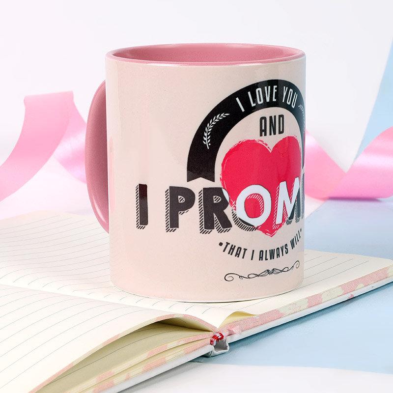 Customised Promise Mug