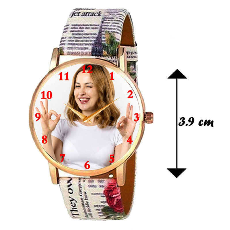 Dimension of Customized Watch For A Lady