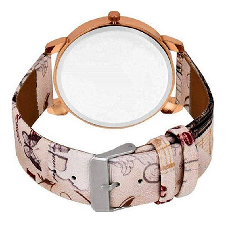 Side View of Customized Watch For A Lady