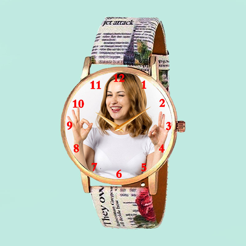 Customized Watch For Ladies