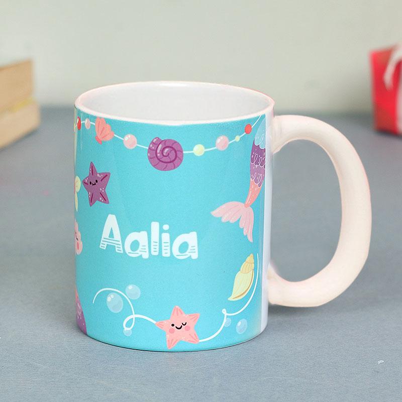 Cute Comfy Combo - personalised ceramic mug