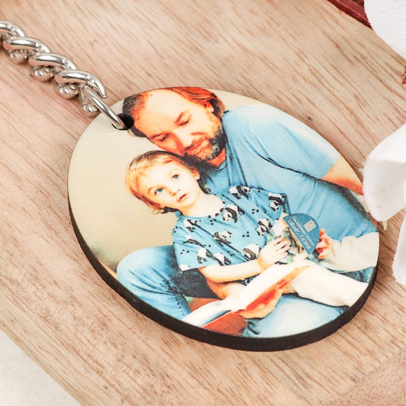Cute Fathers Day Keyring