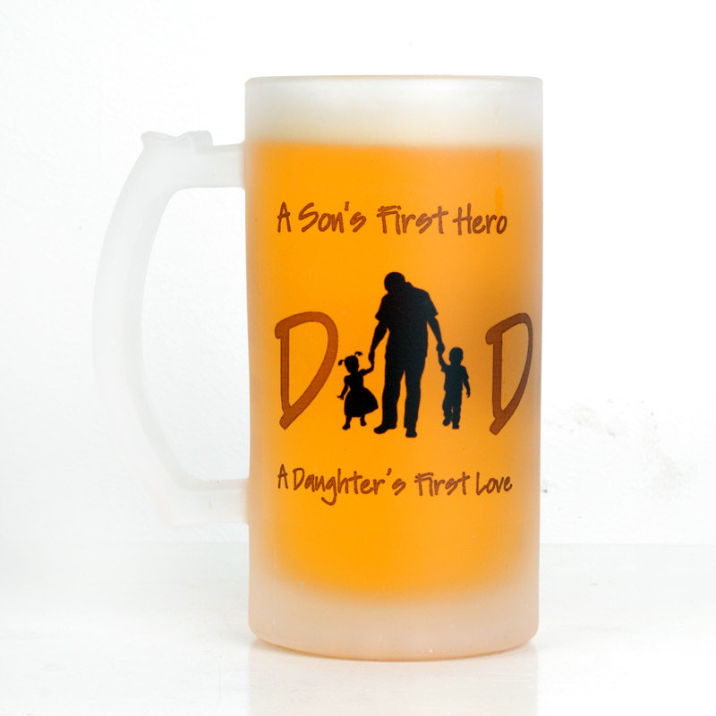 Trendy Fathers Day Beer Mug