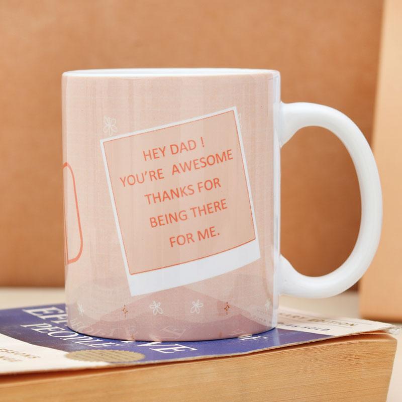 Customized Father's Day Mug