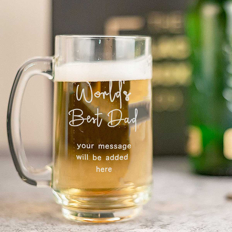 Worlds Best Dad Beer Mug