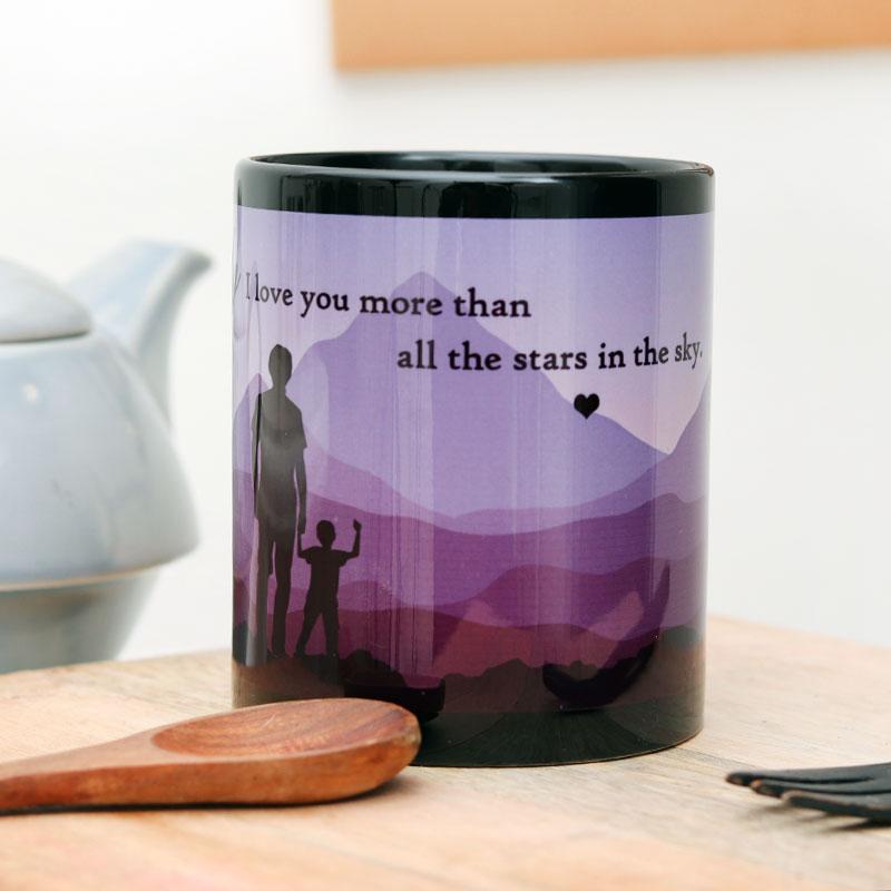 Personalized Fathers Day Coffee Mug
