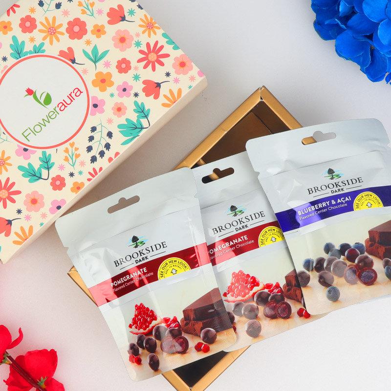A Diwali Chocolate Box of Brookside Chocolate Duo