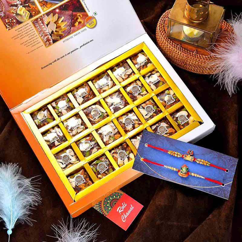 Dateberry Bites Rakhi Set