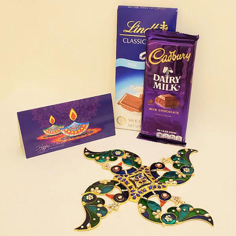 Delicious Chocolates N Designer Rangoli