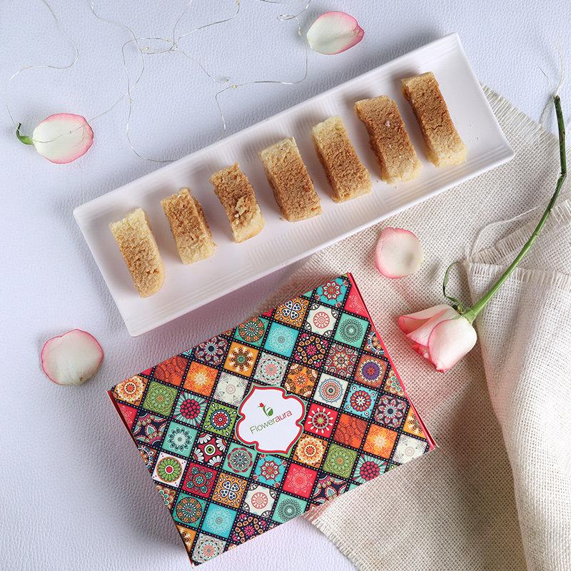 Delicious Pack Of Milk Cake