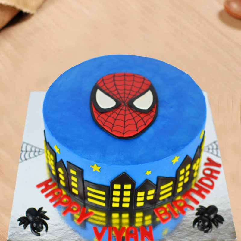 Spiderman Designer Cake