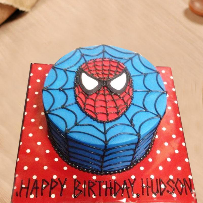Spiderman Designer Cake for Birthday