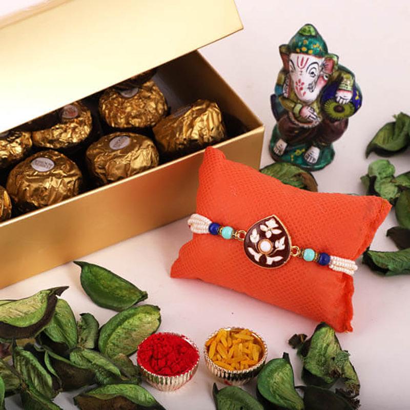 Designer Holy Rakhi Delight