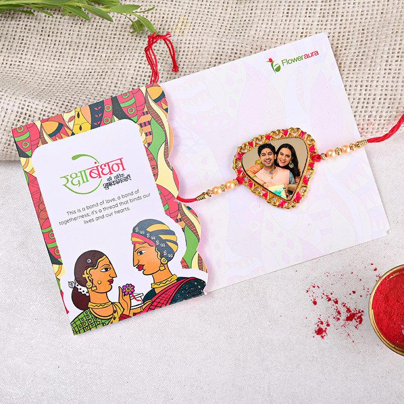 Send One Personalised Rakhi Online in India