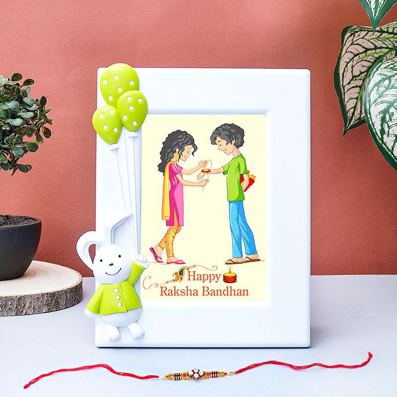 Designer Rakhi Custom Frame