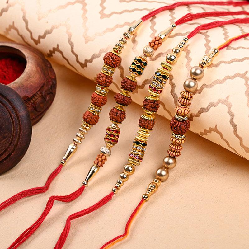 Order Devotee Rakhi Combo Online