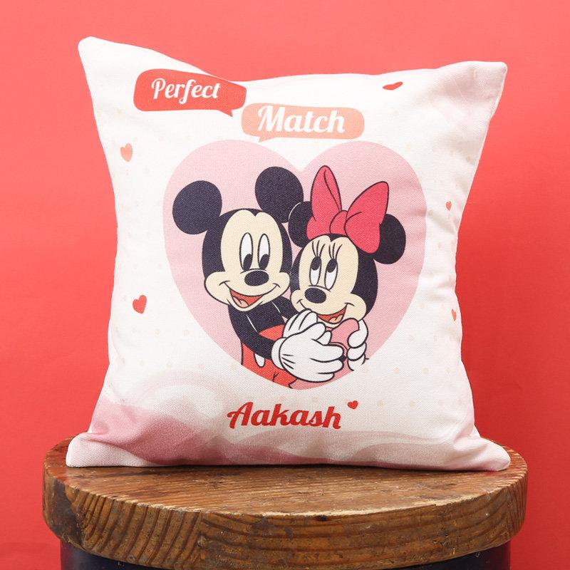 Disney Fairytale Couple Cushion