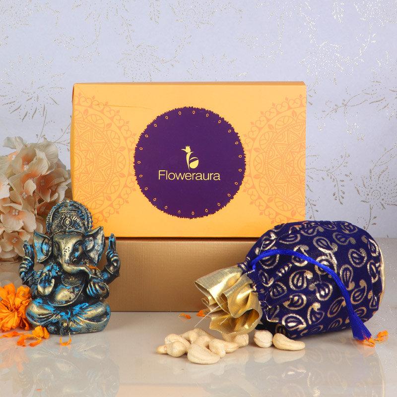Front View of Divine Ganesha Signature Box
