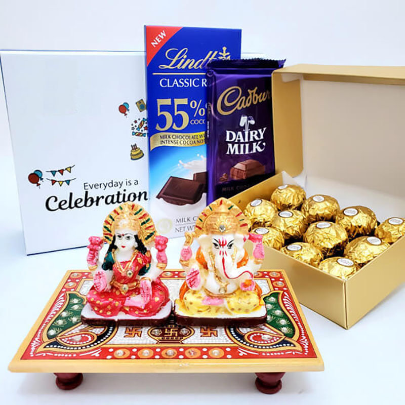 Diwali Blessings With Chocolates