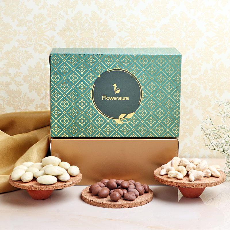 Diwali Gifts, Rabri & Choco Almonds