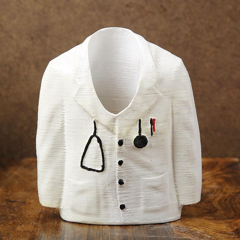 Doctor Uniform Planter