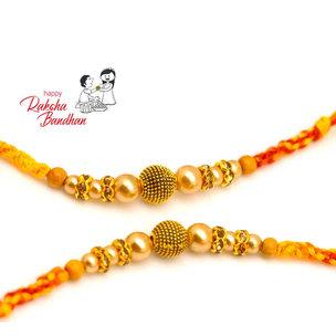 Double Designer Rakhis Combo Rakhi for USA