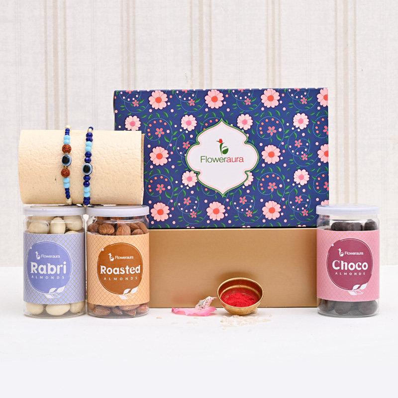 Double joy Rakhi pack - Set of 2 Designer Rakhi