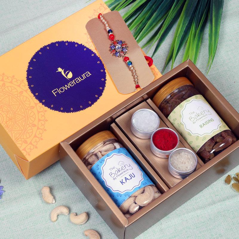 Dry Fruit Rakhi Signature Box