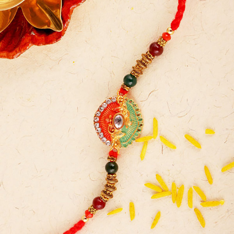 Dual Coloured Rakhi